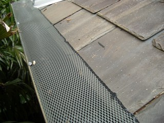 Gutter guard in Woolsey