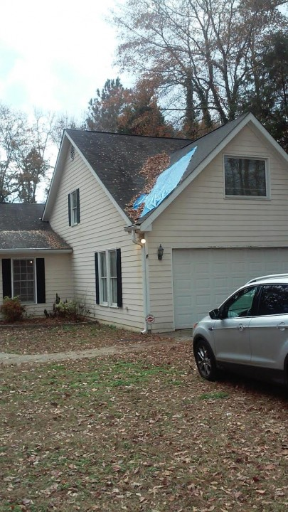 Roofing Job in Hampton, GA by B & W Roofing